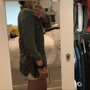 army green top/jacket